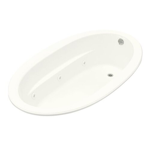 "Kohler Sunward 72"" X 42"" Drop-In Whirlpool Bath and Reversible Drain"