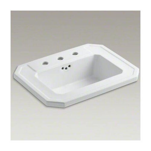 "Kohler Kathryn Self-Rimming Lavatory with 8"" Centers"