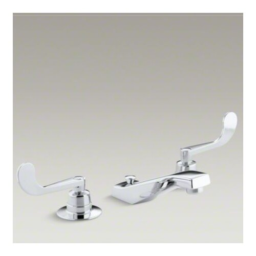 Kohler Triton Widespread Lavatory Base Faucet with Pop-Up Drain, Requires Handles