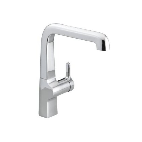 Evoke Single Control Kitchen Sink Faucet with Sidespray