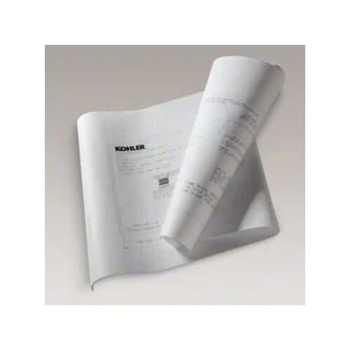Kohler Underscore 6' Undermount Installation Kit