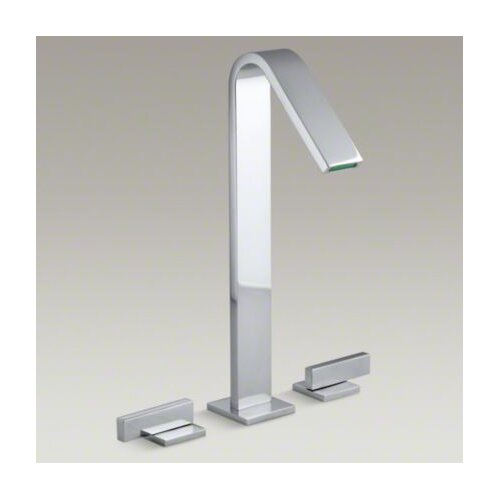 Kohler Loure Tall Widespread Bathroom Faucet with Lever Handles