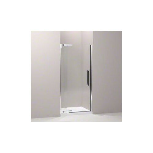 "Kohler Purist 33.25"" - 35.75"" Pivot Shower Door with 0.375"" Crystal Clear Glass"