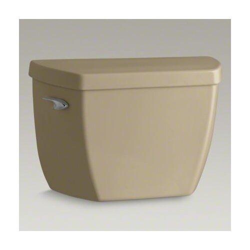 Kohler K-4645-TR-7 Highline Classic Pressure Lite Toilet Tank with Tank Cover Locks and Right-Hand Trip Lever Black Black