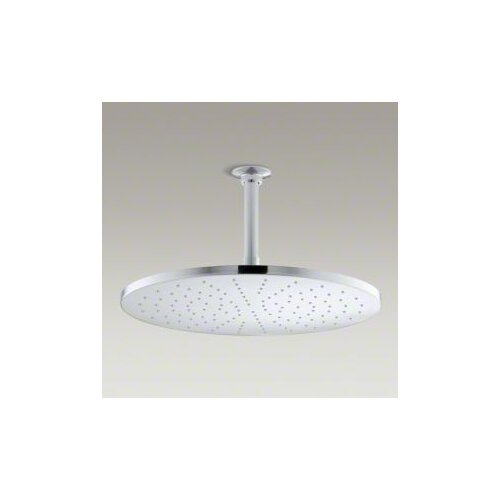 "Kohler Contemporary Round 14"" Rainhead with Katalyst Spray, 2.5 GPM"
