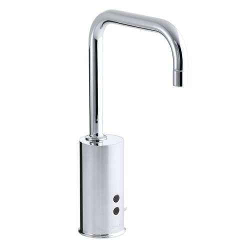 Gooseneck Touchless Ac-Powered Deck-Mount Faucet