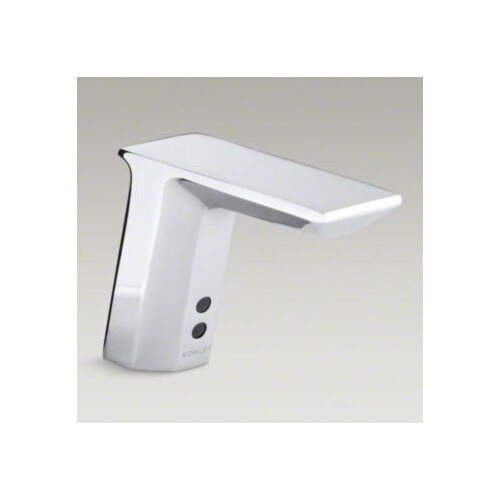 Hybrid Geometric Touchless Deck-Mount Faucet