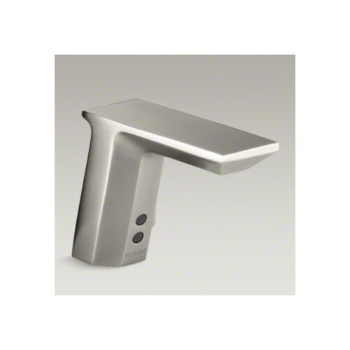 Hybrid Geometric Touchless Deck-Mount Faucet with Mixer
