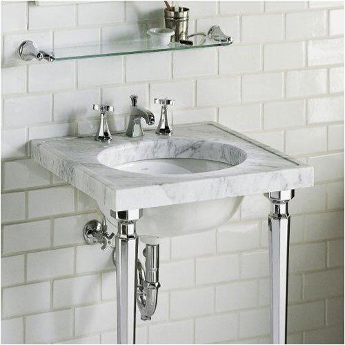 Kathryn Marble Console Bathroom Sink Set