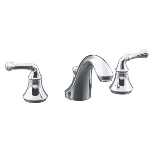 Kohler Forté Widespread Lavatory Faucet with Traditional Lever Handles