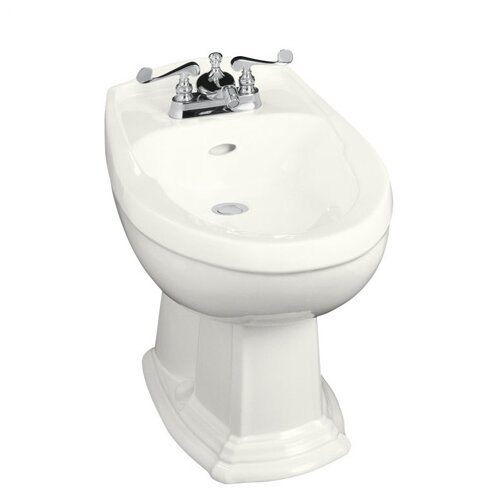 "Kohler Portrait 16.81"" Floor Mount Bidet Plumbed for Horizontal Spray"