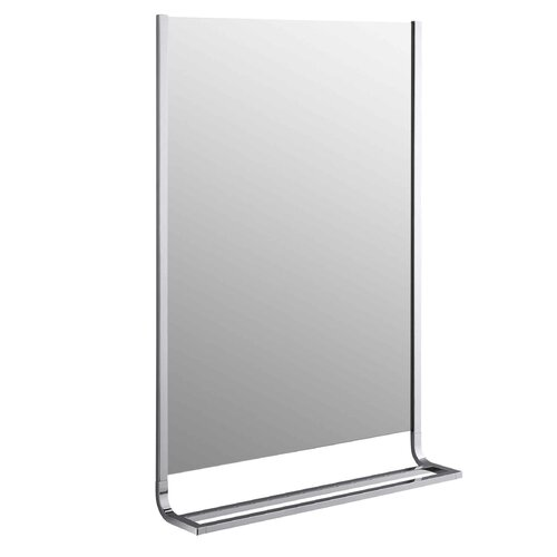 Loure Mirror and Double Towel Bar