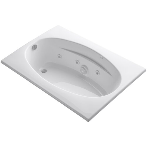 "Kohler 6042 60"" X 42"" Drop-In Whirlpool Bath with Heater"