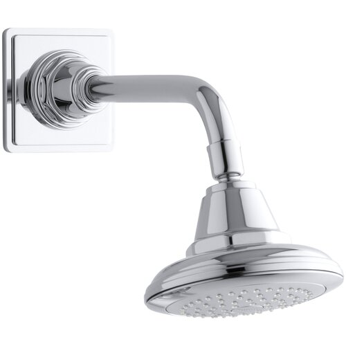 Kohler Pinstripe 2.5 GPM Single-Function Wall-Mount Showerhead