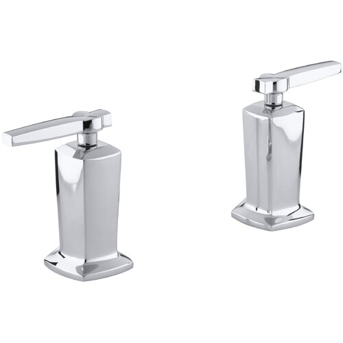Kohler Margaux Deck-Mount High-Flow Bath Valve Trim with Lever Handles, Valve Not Included