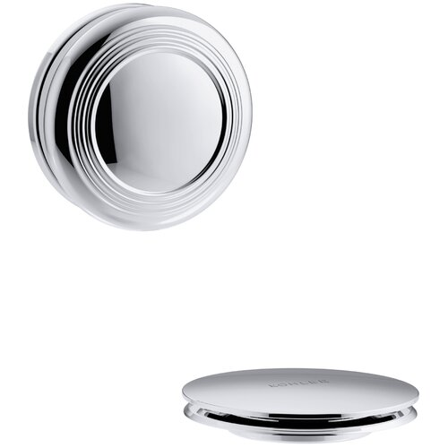 Kohler Pureflo Traditional Push Button Bath Drain Trim