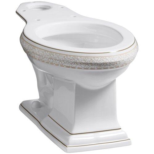 Crimson Topaz Toilet Bowl