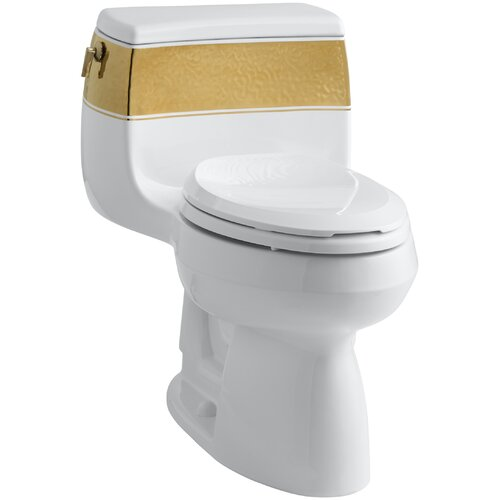 ... Toilet with Top Actuator and Saile Quiet-Close Toilet Seat with Quick