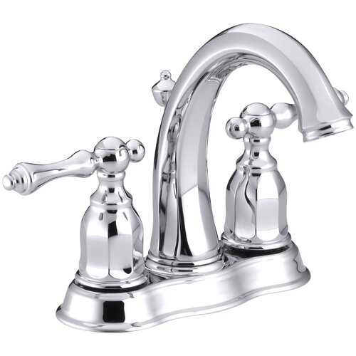 Kohler Bathroom Faucet Parts Bathroom Faucets Reviews: Kohler Kelston Centerset Bathroom Faucet With Lever