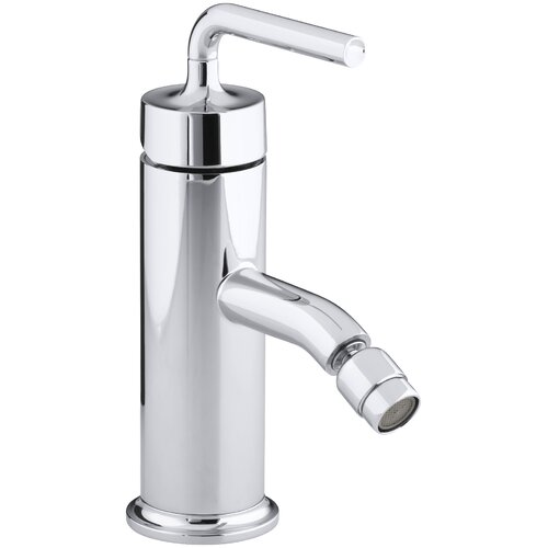 Purist Single-Control Bidet Faucet with Straight Lever Handle