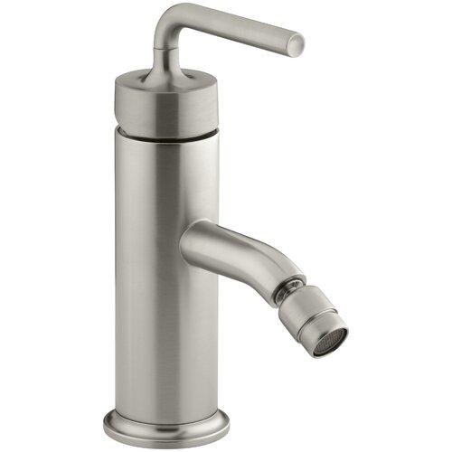Kohler Purist Single-Control Bidet Faucet with Straight Lever Handle
