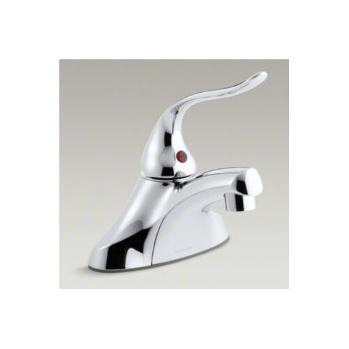 Coralais Single-Control Centerset Lavatory Faucet with 0.5 GPM Spray and 5