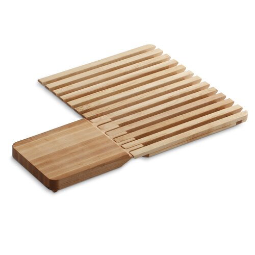 Epicurean Hardwood Cutting Board and Drain Board, for Use On Epicurean Sink