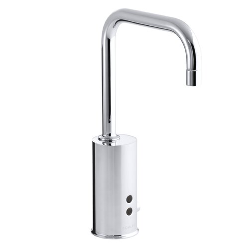 Gooseneck Touchless Ac-Powered Deck-Mount Faucet