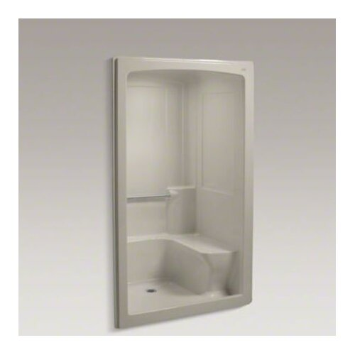 """Kohler Freewill 37.5"""" x 52"""" Barrier-Free Shower Module with Seat On Right"""