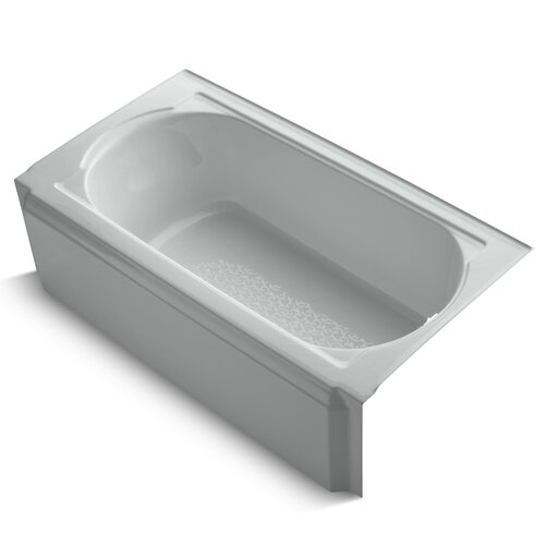"Kohler Memoirs 60"" X 34"" Alcove Bath with Right-Hand Drain"