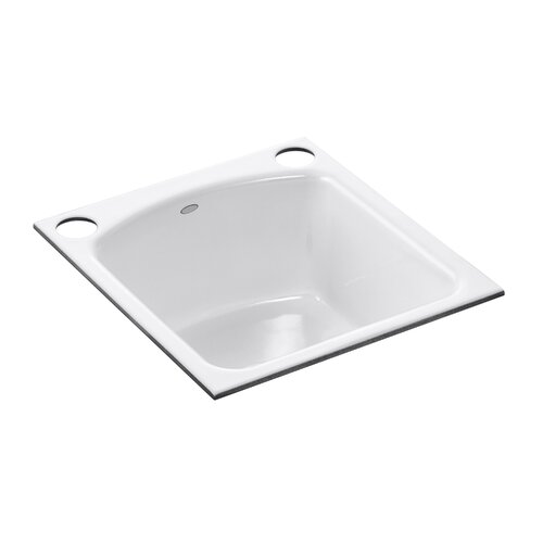 Napa Under-Mount Bar Sink with 2 Oversize Faucet Holes