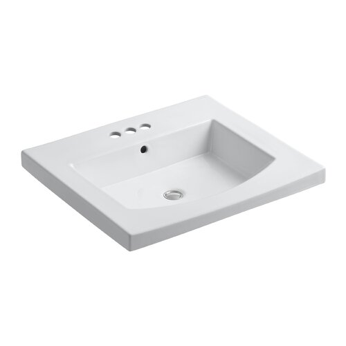 Persuade Curv Top and Basin Lavatory with 4