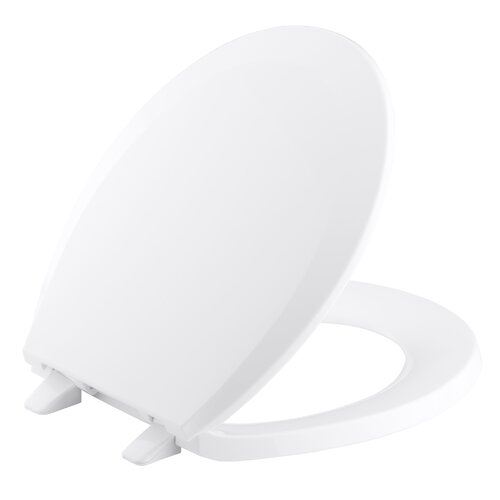 Lustra Round-Front Toilet Seat with Q2 Advantage