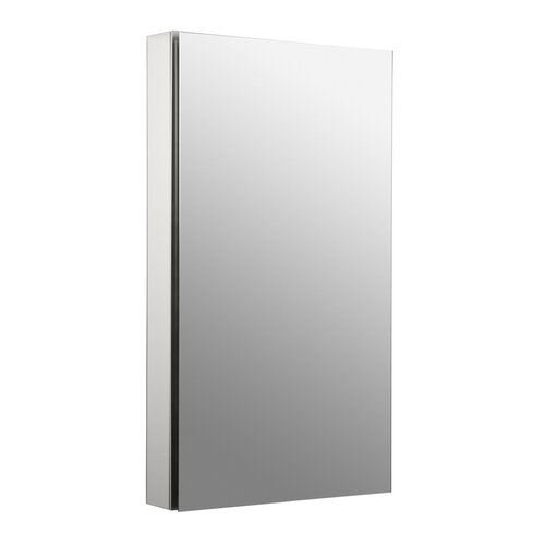 "Kohler Catalan 20"" x 36"" Single Door Medicine Cabinet with 170 Degree Hinge and Triple Mirror"