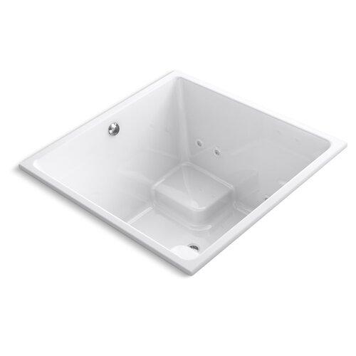 """Kohler Underscore 48"""" X 48"""" Drop-In Whirlpool Bath with Heater"""