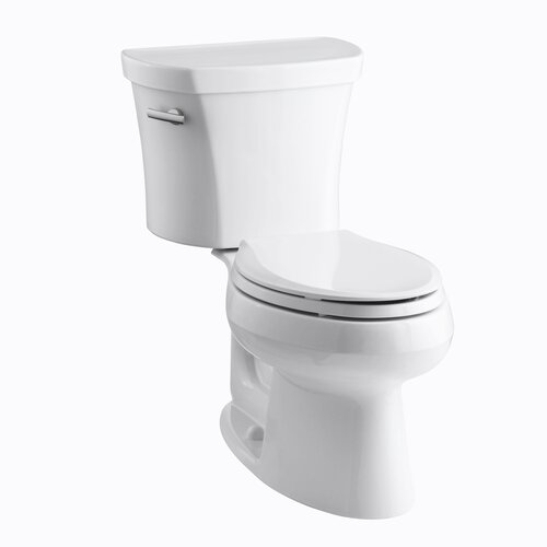 Wellworth 1.28 GPF Two-Piece Elongated Toilet with 14