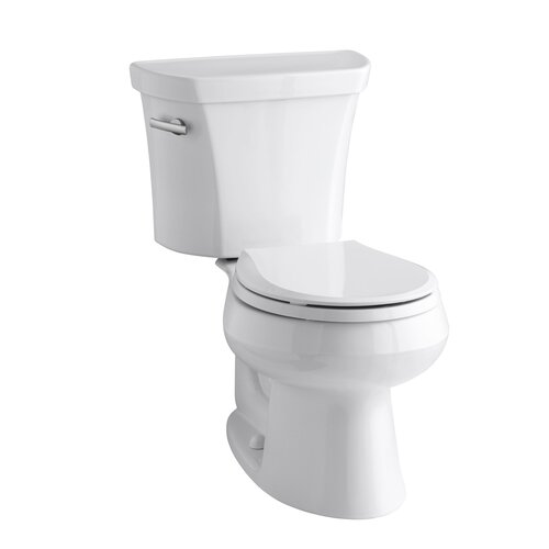 Wellworth 1.28 GPF Two-Piece Round Toilet with 12