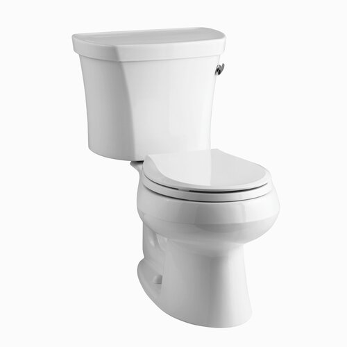 Wellworth 1.28 GPF Two-Piece Round Toilet with 14