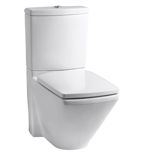 Escale Two-Piece Elongated Dual-Flush Toilet with Top Actuator