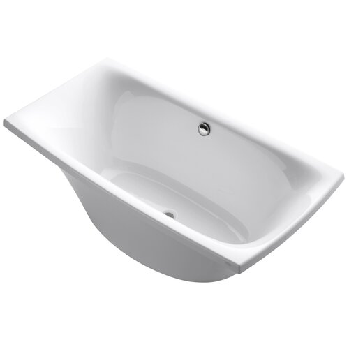 "Kohler Escale 72"" X 36"" Freestanding Bath with Hole Drilling for Symbol Roman Bath Filler"