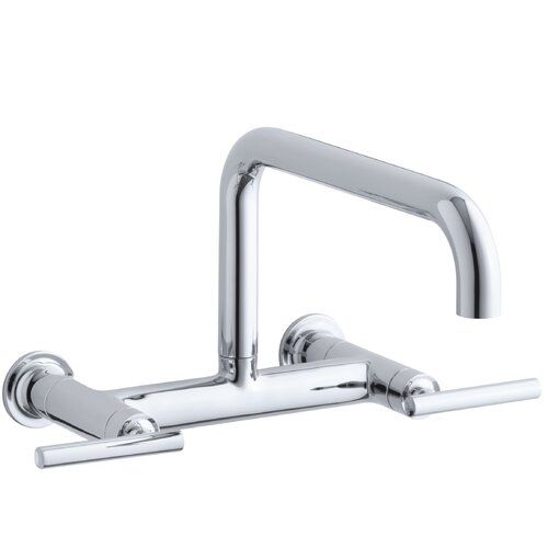 Purist Wall-Mount Bridge Faucet