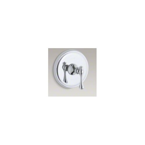 Kohler Revival Thermostatic Valve Trim with Traditional Lever Handle, Valve Not Included