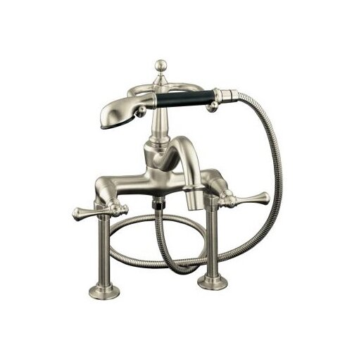 Kohler Revival Bath Faucet with Handshower, Diverter Spout and Traditional Lever Handles
