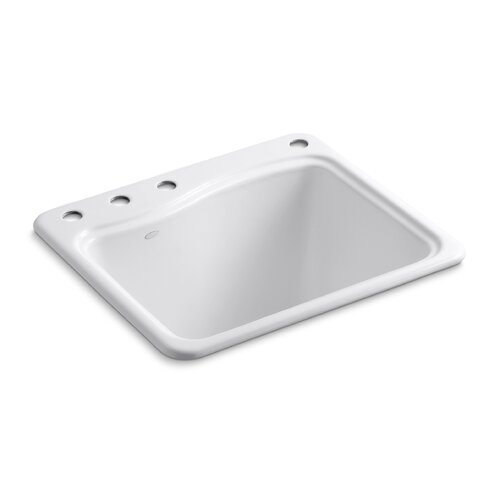 River Falls Single Basin Cast Iron Utility Sink