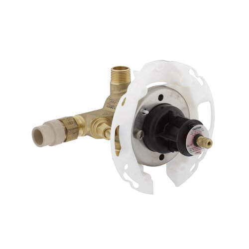 Kohler Rite-Temp Valve with Stops, Cpvc Inlets - Project Pack