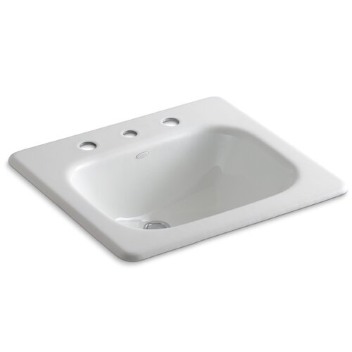 "Kohler Tahoe Self-Rimming Lavatory with 8"" Centers"