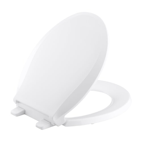 Kohler Grip-Tight Cachet Q3 Round-Front Toilet Seat