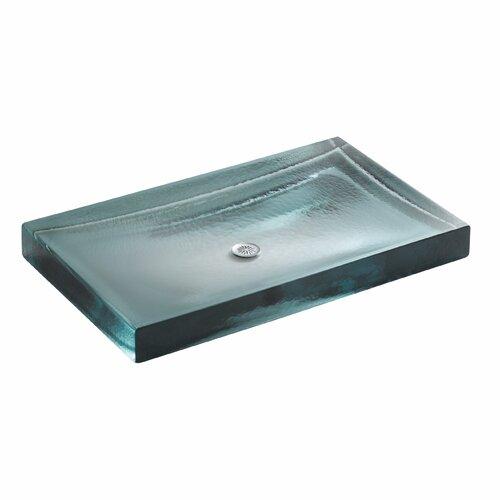 Antilia Wading Pool Glass Countertop Lavatory