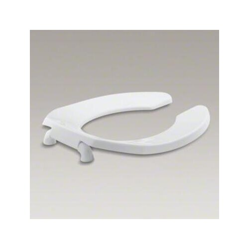 Kohler Lustra Round, Toilet Seat with Check Hinge and Anti-microbial Agent