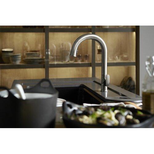 Kohler sensate touchless pull down kitchen faucet reviews wayfair - Touchless kitchen faucet reviews ...